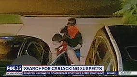 Search for carjacking suspect in Orange County
