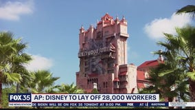 Disney to lay off around 28,000 workers in Florida, California