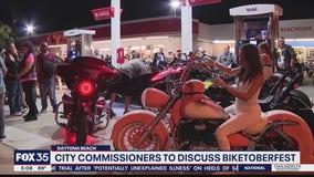 Daytona Beach leaders discuss Biketoberfest