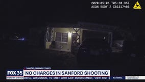 No charges in Sanford shooting