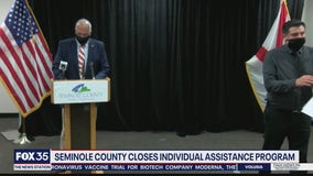 Seminole County closes individual assistance program