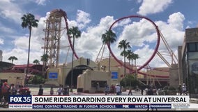 Some rides to board every row at Universal