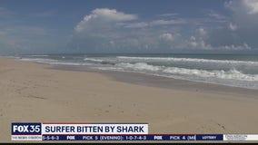 Surfer bitten by shark
