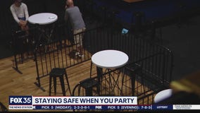 Safety measures put in place at bars, clubs