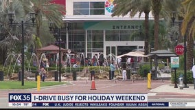 I-Drive busy for Labor Day weekend