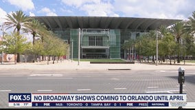 Broadway shows to return to Orlando in April