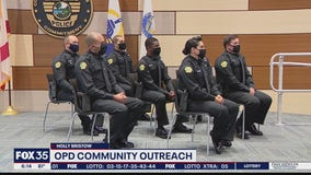 OPD new recruits discuss community outreach