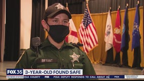 Deputies speak to FOX 35 about search for missing boy