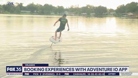 David Does It: Booking experiences with adventure IO app