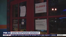 Bars reopening in Florida Monday