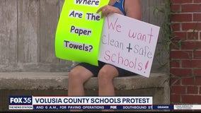 Volusia County schools protest
