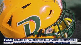 DeLand High School football pauses for 2 weeks
