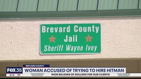 Woman accused of trying to hire hitman