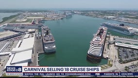 Carnival selling 18 ships pushes back new cruises to 2021
