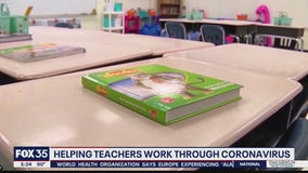 Helping teachers work through coronavirus