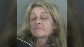 Florida woman arrested after asking deputy to smoke marijuana with her, affidavit says