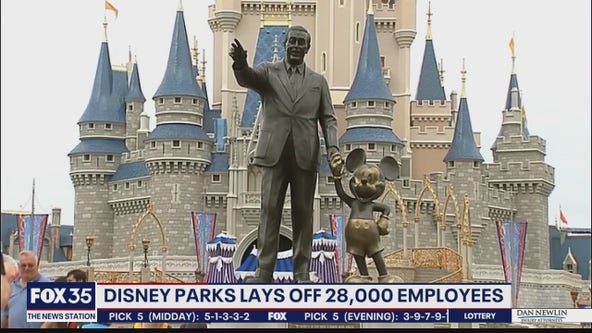 Disney to lay off 28,000
