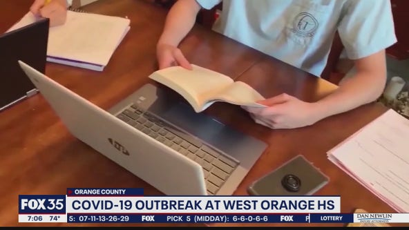 COVID-19 outbreak at West Orange High School