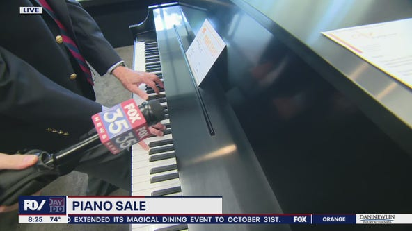 David Does It: Piano Sale