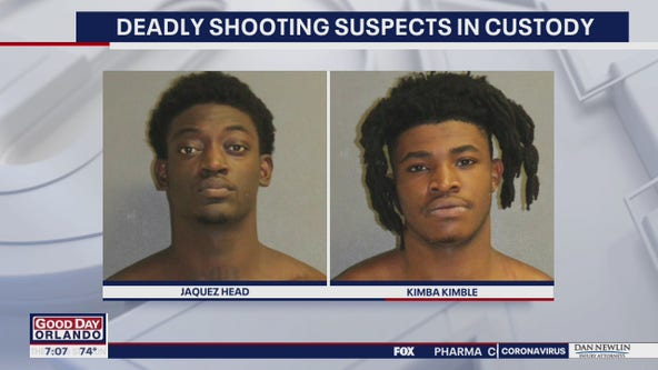 2 charged in connection to deadly shooting in Daytona Beach