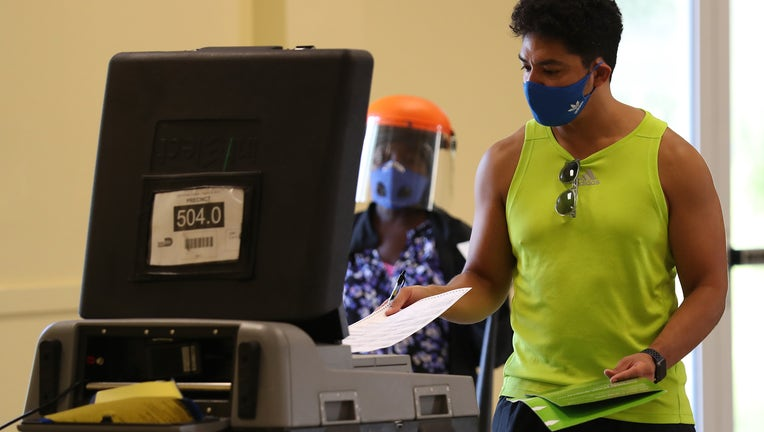 Floridians Go To The Polls On State's Primary Election Day