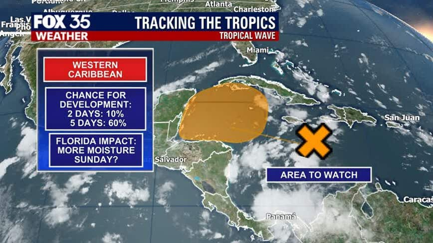 Gamma on the way? Tropical wave could become our next named storm
