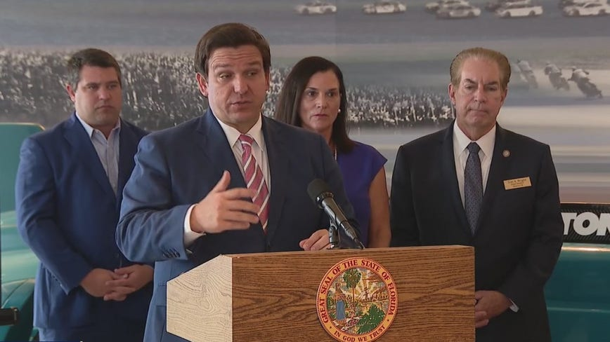 Gov. DeSantis defends agencies' response to coronavirus
