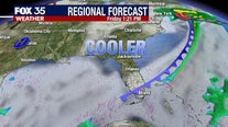 Cool front to bring comfortable temperatures to Florida for Halloween