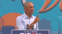 Obama speaks at drive in rally in Orlando