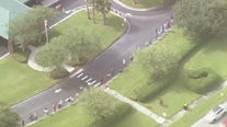 SKYFOX goes over early voting sites in Central Florida