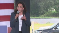 Kamala Harris speaks at early voting rally in Orlando