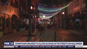 Orlando to allow drinking in streets for Halloween