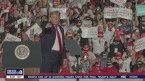 Trump holds first rally since contracting coronavirus