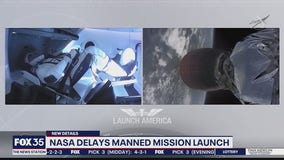 NASA delays ISS mission launch