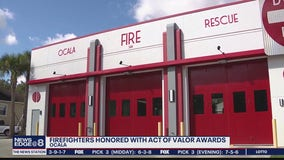 Ocala firefighters honored for saving lives