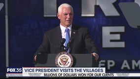 Vice President Pence holds rally in The Villages