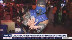 Orlando preparing for Halloween crowds