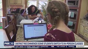 District recommends some students return to classroom