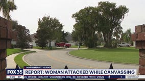 Report: Woman attacked while canvassing