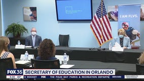 DeVos in Orlando to discuss education during pandemic