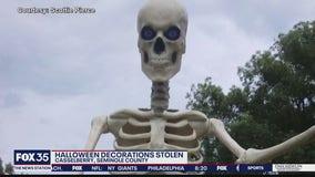 Halloween decoration stolen