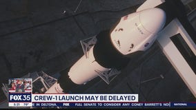 Crew-1 launch may be delayed