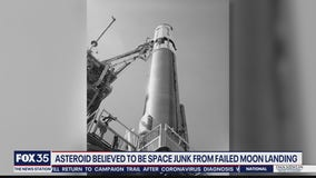 What was thought to be asteroid could be space junk