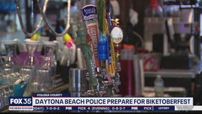 Police prepare for Biketoberfest