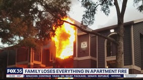 Residents impacted by apartment fire