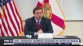 Man accused of changing voting address of Gov. DeSantis