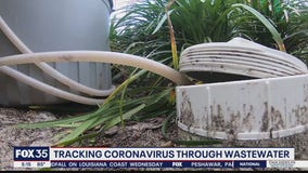 Tracking coronavirus in wastewater