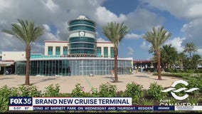 New Terminal 3 Complex completed at Port Canaveral
