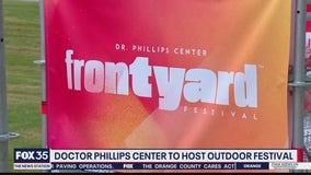 Dr. Phillips Center holding Frontyard Festival