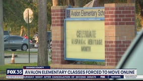 Avalon Elementary classes forced to move online